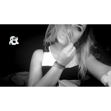 Hello World Black & White Love This  Polishgirl Spirit Folllowme Eyelashes <3 Hihi <3 Happy :)