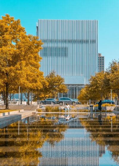 The Architect - 2018 EyeEm Awards Architecture Autumn Building Building Exterior Built Structure Change City Day Lake Nature No People Office Building Exterior Outdoors Plant Reflection Sky Travel Destinations Tree Water Waterfront