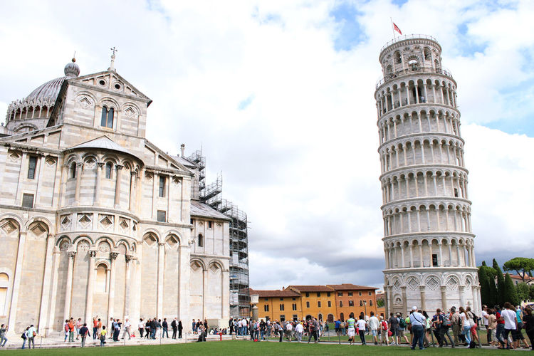 Cattedrale Di Pisa Catedral Italia Pisa Sightseeing Travel Cloud - Sky Italy People Struttura