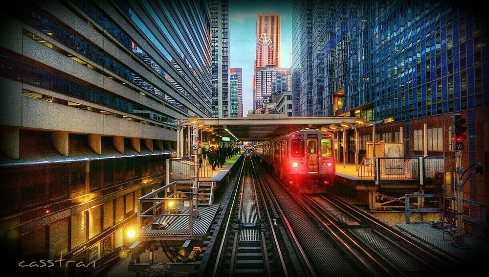 Blade Runner Scene Train Perspective The Explorer - 2014 EyeEm Awards