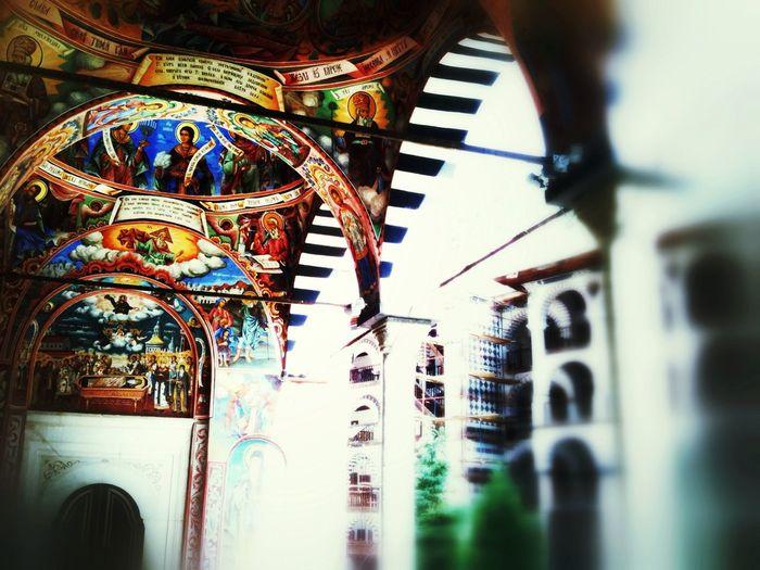 Architecture at Rila Monastery (UNESCO) Architecture