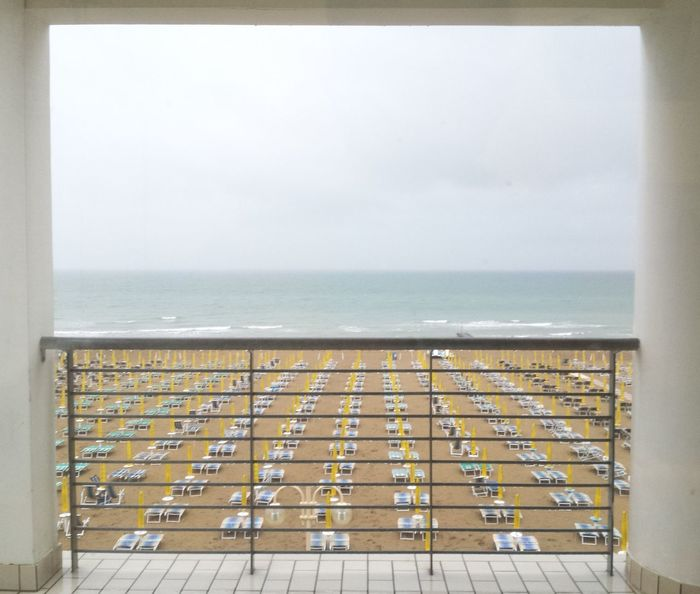 A Frame Within A Frame Jesolo Beach lungomare frontemare ferie