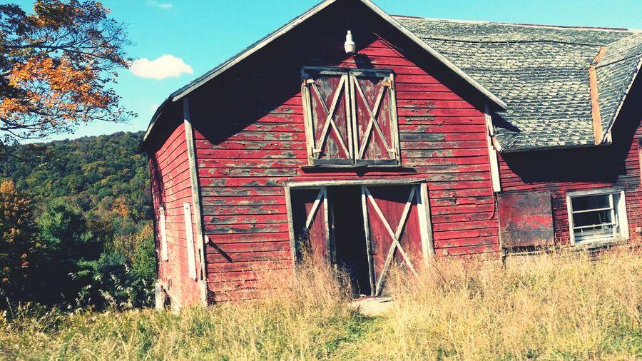 Woodstock NY Red Barn Barn Red Scenic