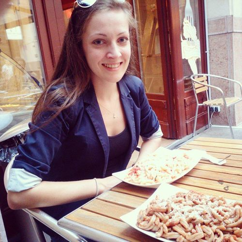 Best pasta in town with the cutest! 2spagi Lekker Budapest Love