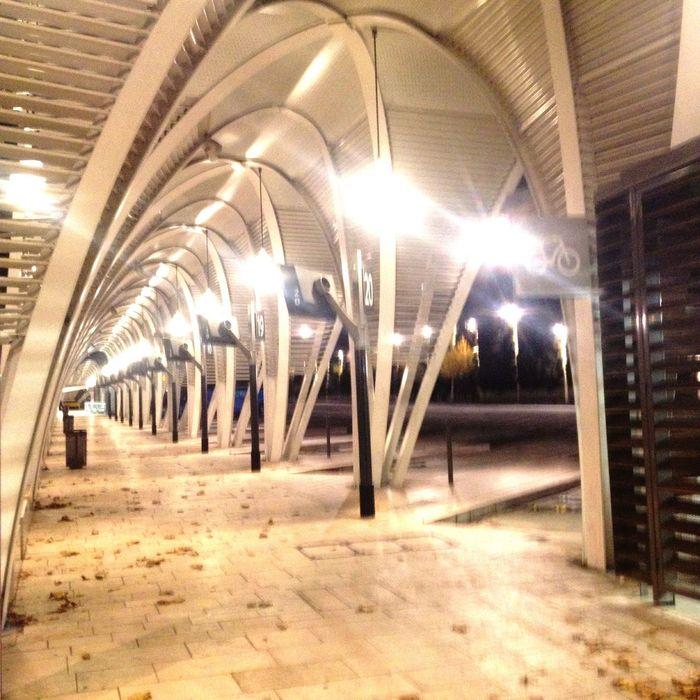 Bus de nuit. Nightphotography The Secret Spaces