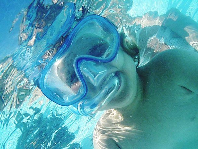 Onderwater foto.
