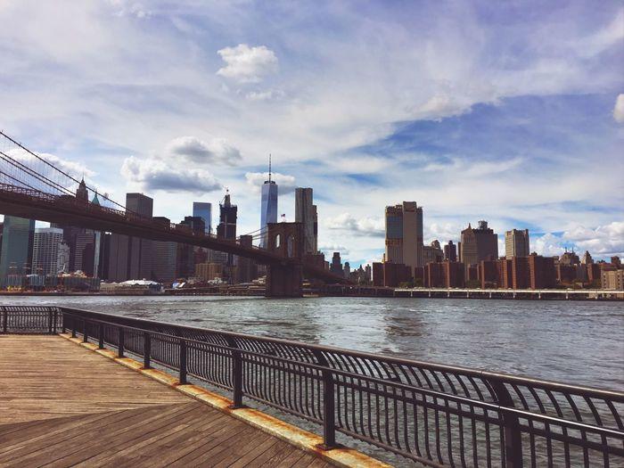 Brooklyn DUMBO Suspension Bridge