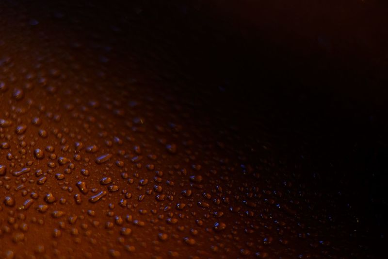 Drop No People Close-up Full Frame Backgrounds Indoors  Water Selective Focus Wet Pattern Textured  RainDrop Rain Still Life Night