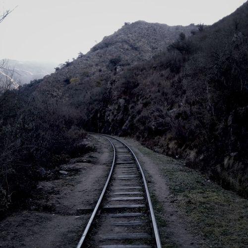 Camino a Pozo del indio en Tanti córdoba