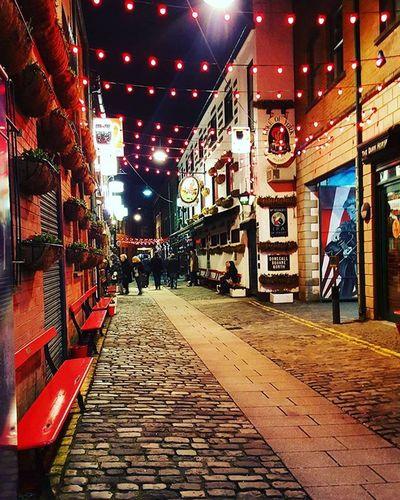 Belfast by night, guess where? Belfast Instabelfast Visitni Visitbelfast DiscoverNI Streetlife Latergram Vscocam VSCO Vscoirland Nightout