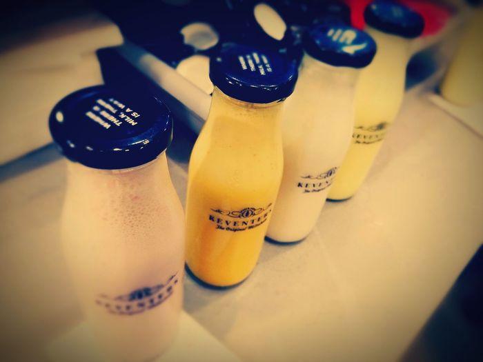 Indoors  Salt Shaker Text Selective Focus No People Arts Culture And Entertainment Close-up Day KEVENTERs Milkshake♥ Milkshake