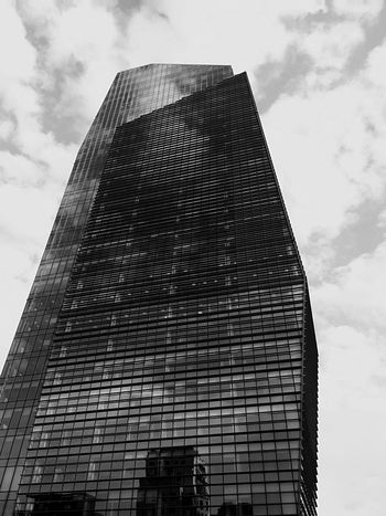 Milano Milan,Italy Porta Nuova Built Structure Reflection On Building Outdoors Urban Landscape Urban Geometry IPhoneography IPhone Urban Lifestyle Black And White Black And White Photography Contemporary Architecture Cityscapes City View  Low Angle View Architecture Building Exterior No People Modern Architecture