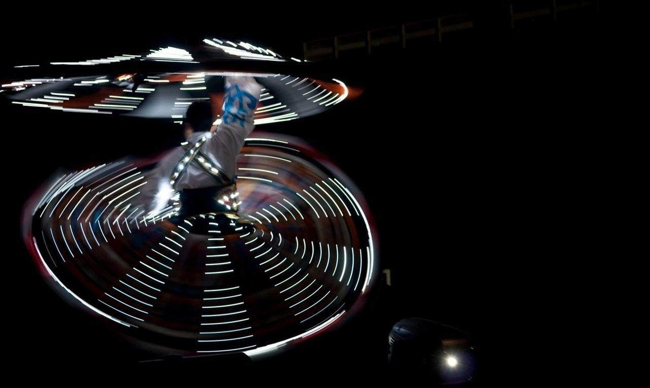 Tanoura dance at traditional show