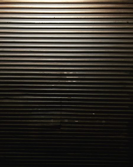 Pattern Metal Textured  Shutter Close-up Corrugated Iron Iron - Metal Architecture Night