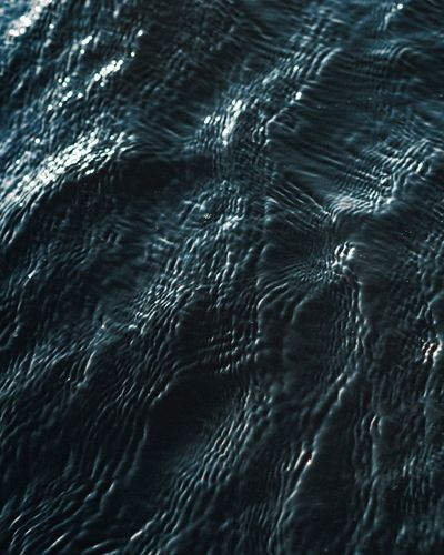 Full frame shot of rippled water
