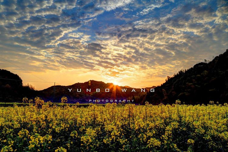Scenery Wuyuan Sky Sunrise Sunrise_sunsets_aroundworld Photography 婺源之眼