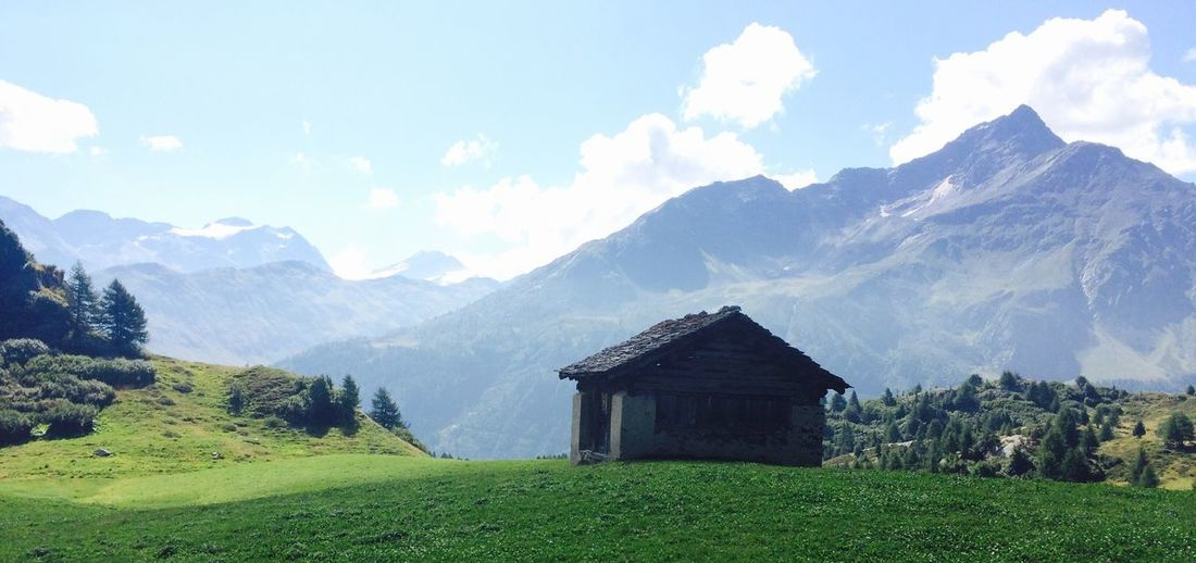 Beautiful Nature Mountain Swiss Switzerland Mountains Valley Mountain View Mountain Range Nature Sun And Sky Adventure Hiking Beautiful Rugged Isolation