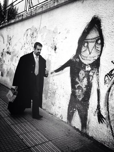 Come With Me And Let Me Show You My World Black And White Street Photography