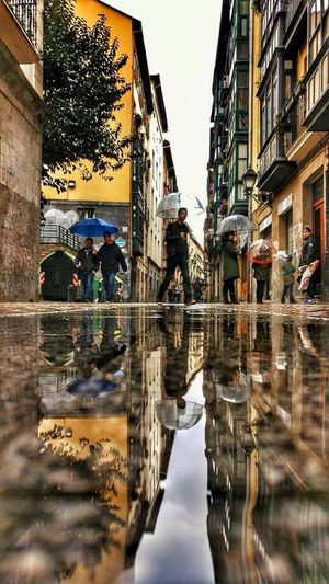 Reflections In The Water Bilbao I Love My City❤ North Of Spain Happy Sunday Capture The Moment Water Reflections