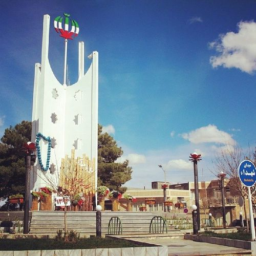 میدان شهدای بجستان - nKamali.ir . Navidkamali نوید_کمالی Nkamali_ir Smart_city Smartcity Smartcities