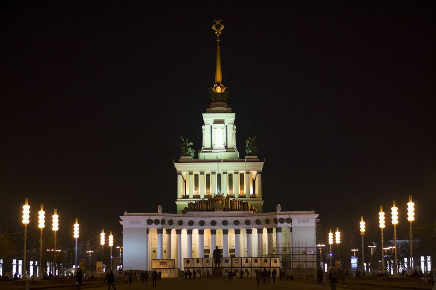 No People City Life Moscow VDNH Night City Cities At Night Bealtiful