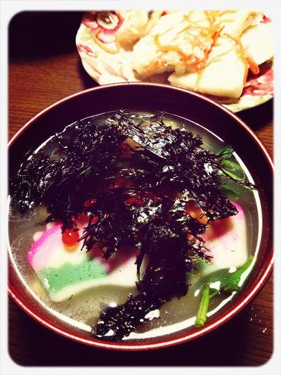 """Japanese Food """"Ozoni"""""""