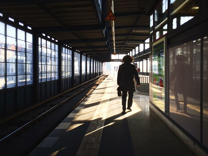 Carpe Diem Into The Light Light And Shadow Streetphoto_color Notes From The S-Bahn Commuting