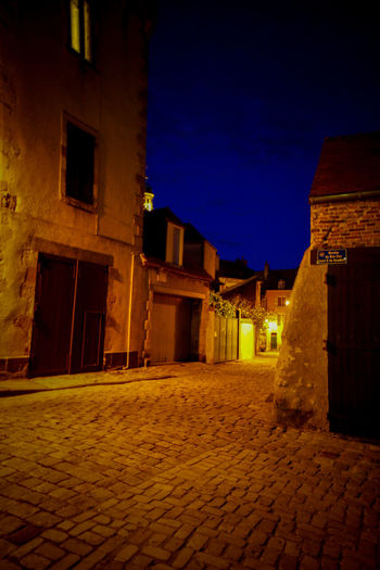 Atmosphere Auvergne Auvergne Villagte France Auvergne Vulcany France Auvergne-Rhône-Alpes Riom Riom One Of Most Beautiful Village Of France Villages Villages Photographie Ambiance Ambiance Du Soir Architecture Atmospheric Sky Auvergne France Building Exterior Built Structure Illuminated Light And Shadow Lights In The Dark Lumière Du Soir Lumières De Nuit Night No People Outdoors Sky