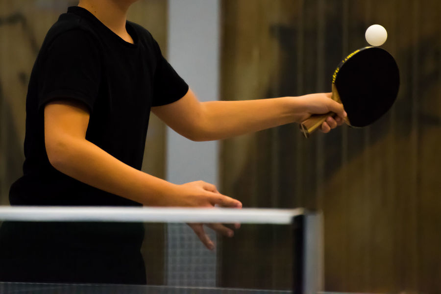 Ball Competition Competitive Sport Day Go-west-photography.com Indoor Photography Indoors  Indoors  Lifestyles Net One Person People Performance Practicing Racket Racket Sport Real People Skill  Sport Standing Table Table Tennis