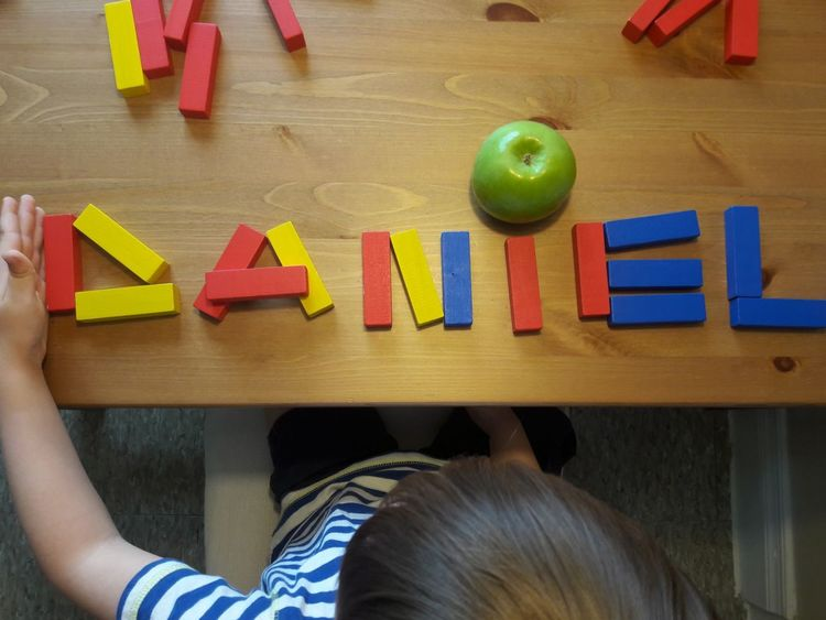 Jenga Blue Yellow Red Wood - Material EyeEmNewHere Table Art EyeEm Selects Kidsphotography Name Daniel Apple Fruit Blond Hair Multi Colored Childhood Low Section Apple - Fruit High Angle View Toy Block Preschool Preschool Building Toy Preschool Student Alphabet Playroom Various This Is Family Visual Creativity Adventures In The City