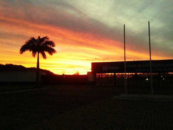 Sunset. Taking Photos