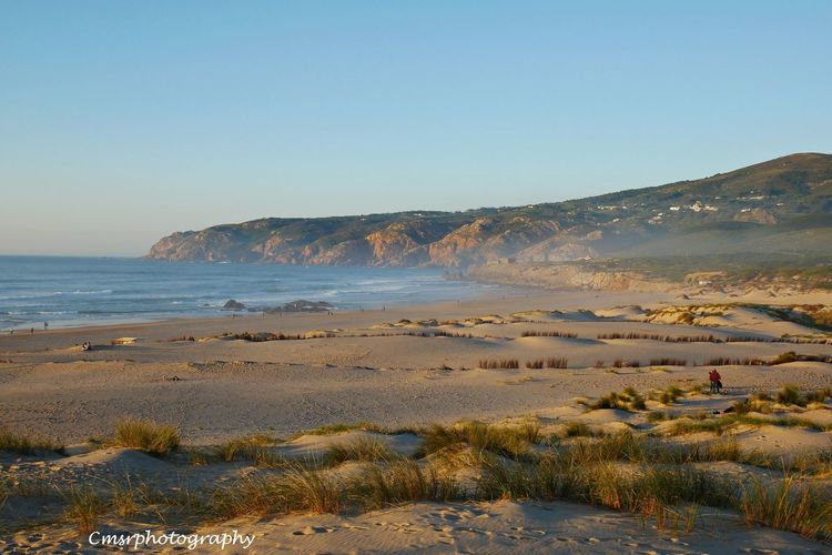 Beach Day Guincho Beach Nature Nature Reserve Portugal Portugal,Cascais Sand Sand Dune Sea Wave