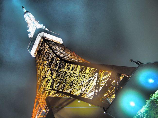霧雨の東京… Architecture Illuminated Architectural Feature Sky From My Point Of View Architecture Streetphotography Cityscape Rainy Days Sky And Clouds Relaxing Time Relaxing Night Tokyo 東京タワー Japan