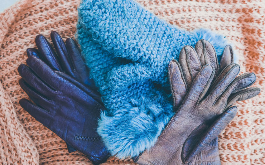 Fashion Winter Adult Close-up Clothing Cold Temperature Cold Temperture Glove Hand Human Hand Indoors  Knitted  Knitted Clothes Leather Gloves Lifestyles One Person Scarf Scarf ❄✌ Seasonal Textile Warm Clothing Winter Accessory Wool