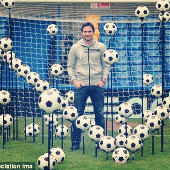 adidas showing lampards 203 goals for chelsea . Unbelievable Legend Lampard 8 football