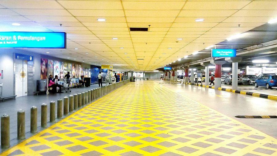 Indoors  Ikano Power Centre Ikea Flooring Yellow EyeEm Masterclass Color Of Life Gridlines Malaysia