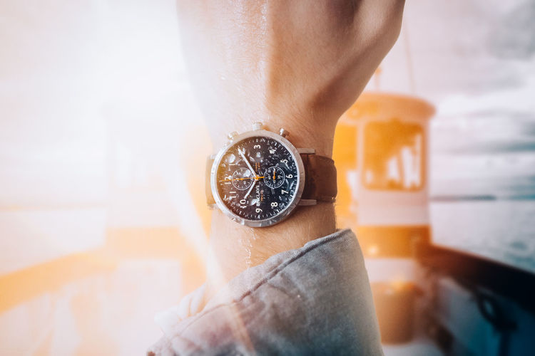Adult Adults Only Close-up Day Human Body Part Human Hand Human Leg Indoors  Lifestyles Low Section Mens Fashion Mens Fashion, MENS WATCH, Will Be Launching All Watch's First Of The Year Menswear One Person One Woman Only People Real People Women Wristwatch
