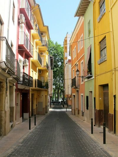Summer Xativa SPAIN Cityscapes Colours Travel Houses Street Photography Pastel Power