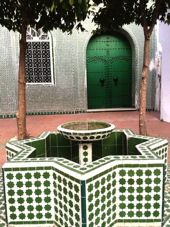 Green Color Green Arabic Arab Culture Arab Art Arquitecture Square Style Beauty Redefined Beauty Place Morrocco Morocco Marroco Arabian Arabic Style
