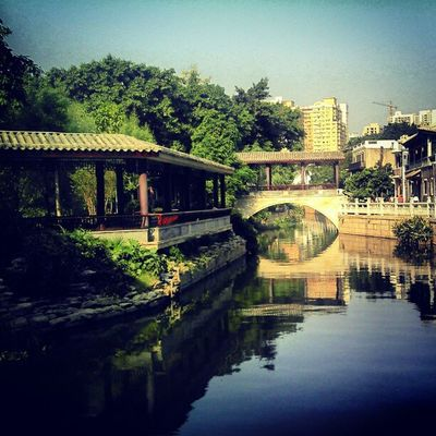 The canal... #flashback #motorola #defy #guangzhou #china #water #instamood #instasighting #instadroid #places Water Places Guangzhou China Flashback Instamood Instadroid Motorola Defy Instasighting