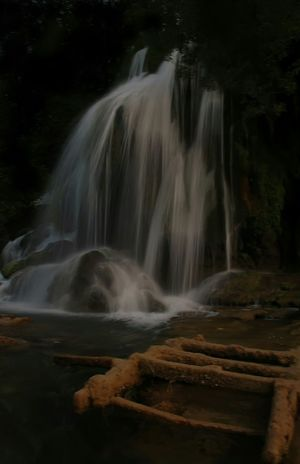 Waterfall Long Exposure Beauty In Nature Nature Outdoors Forest Motion Water Day Sigma Nikon Colors Daytime Photography Light And Shadow Outdoor Photography Contrast Herzegovina Croatia Blurred MotionWildlife & Nature Beauty In Nature Nature Landscape Scenics Tree Kravice