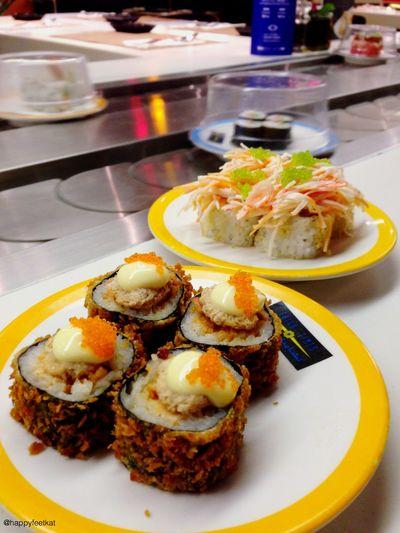 Nom nom nom!!😋🍣🍥🍤 The Foodie - 2015 EyeEm Awards Sushi Maki Food Favorite Japanese Food IPhoneography Foodphotography Foodie Foodgasm
