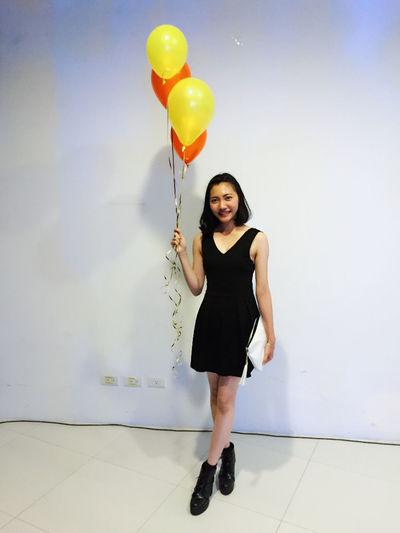 Christmas Party Baloons This Is Me BlackDress