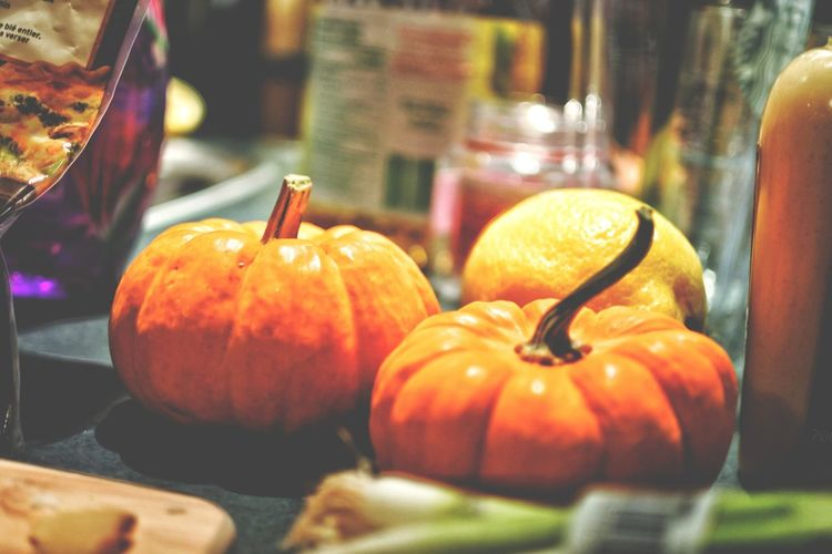 #Dinner #Thanksgiving #Vegetables #autumn #fall #fruit #seasons  #thanksgiving2017 Close-up Day Food Food And Drink Freshness Fruit Halloween Healthy Eating Indoors  No People Pumpkin