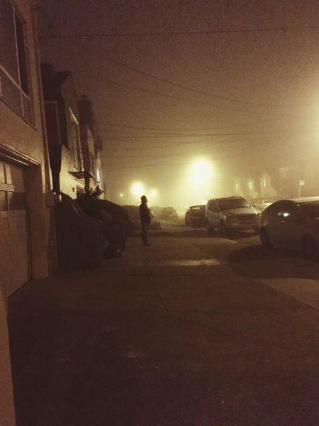 3 am Sanfrancisco Grain Fog