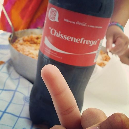 Chissenefrega Fottiti Cocacola