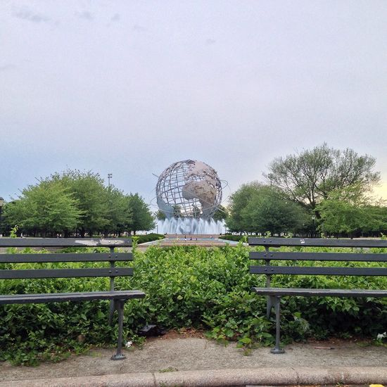 My View NYC Photography NYC Unisphere Earth Metalsculpture Park Flushing Meadow Park New York City Myview