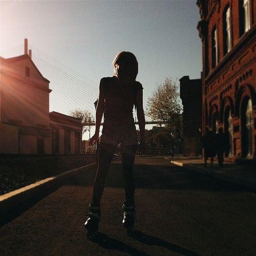 закат🌇 Vladivostok Vlc девушка