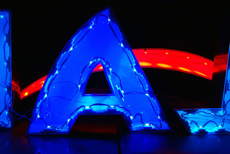 Acrilic Glass Blue Colors Colour Of Life Diodes Illuminated Letters Letter Light Light And Shadow Lighting Equipment Pivotal Ideas Plastic Signboard Wire Work Working Close Up Technology EyeEm Selects