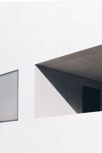 Built Structure Architecture No People White Background Outdoors Architectural Feature Architecture_collection Architecture Modern Architecture Minimalist Architecture Light And Shadow Minimalobsession Minimalism Modern Light Day Concrete Minimal The City Light